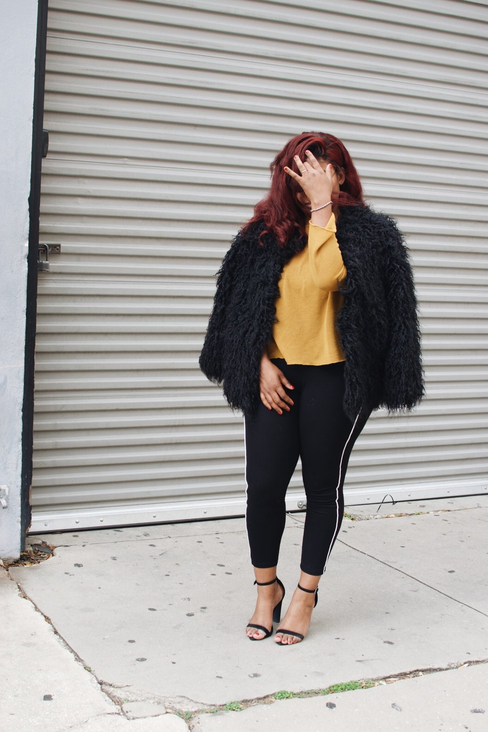 Fall Faux Fur Red Hair Finding Lex
