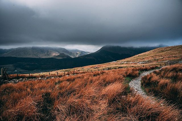 The views from the bottom of Mount Snowdon on a moody day.  #mountsnowdon #snowdon #mountain #clouds #cloudporn #abovetheclouds #wales #snowdonia #landscape #landscapephotography #mountainclimbing #nikon #nikond750 #vsco #views #photo #photography #photographer #photooftheday #photographyislife #moody #drama #dramaticsky #darkclouds #moors