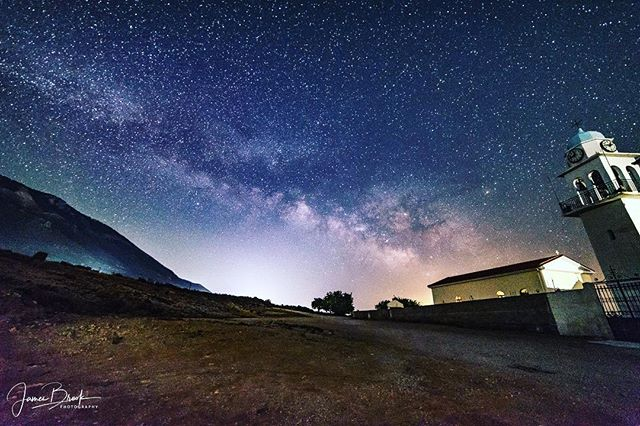 The beautiful night sky as seen from my favourite place - Kefalonia, Greece.  #milkyway #milkywaychasers #galactic #galacticcore #nightsky #night #nightphotography #tui #greekislands #beach #stars #Kefalonia #nikond750 #nikond750 #samyang #samyang14mm #greekislands #greek #greece @wu_greece @greecephototours @visitgreecegr #makrisgialos #stars #lookup #holiday #summer #summer2017 #holiday #photo #photography #photographer #photographylife #photooftheday #longexpo #longexposure