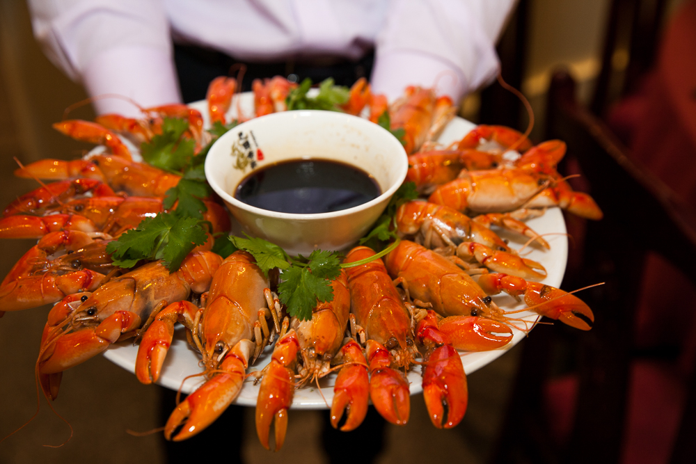 Braised Yabbies with Ba Guo dipping Sauce (non spicy)