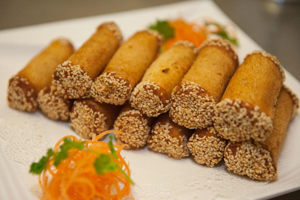 Taro Toast Rolls