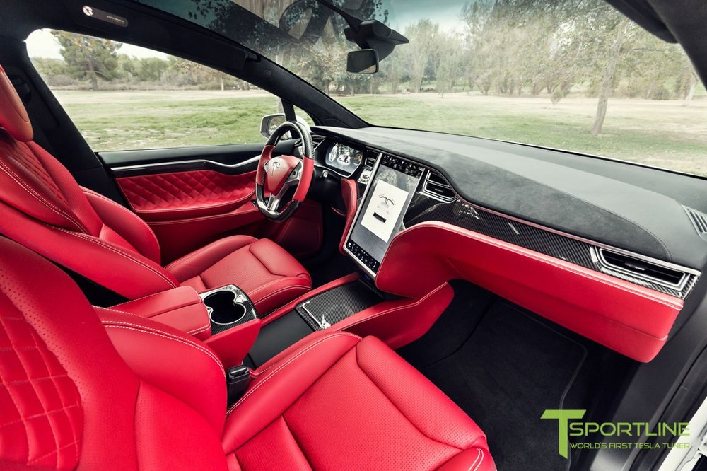 Now THAT is a RED interior!