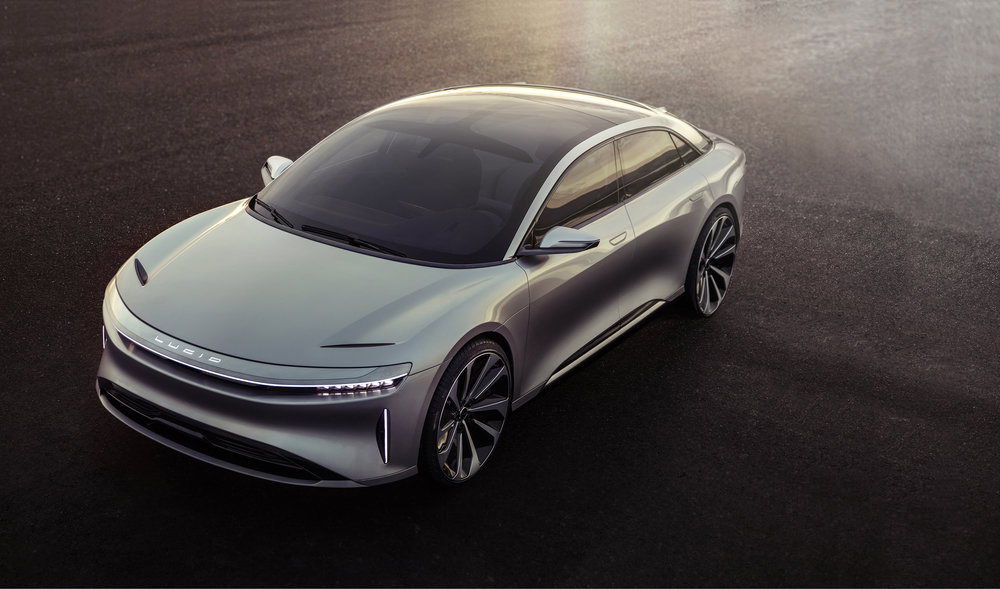 Lucid Air - now accepting deposits