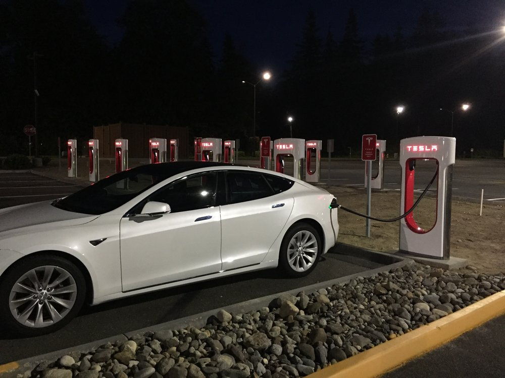 Pearly McPearl charging in Arlington, WA