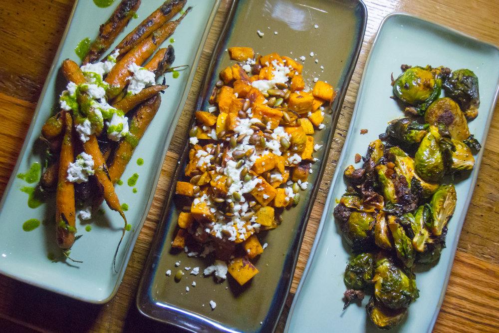 Shared Vegetable Sampler