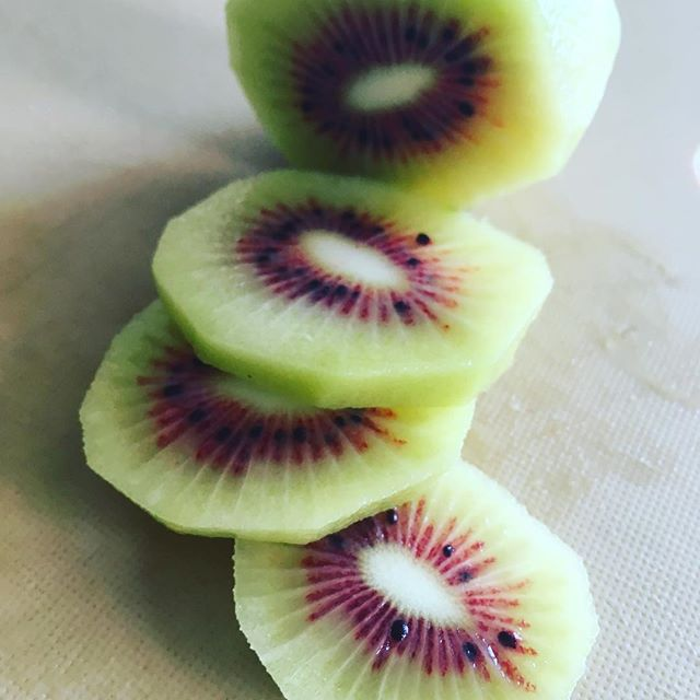 Found this gorgeous red Chinese kiwi fruit today- not as tart as the NZ counterparts, much milder in flavour. perfect in a fruit tart with Davidson plum creme! We have some local inspired recipes coming soon