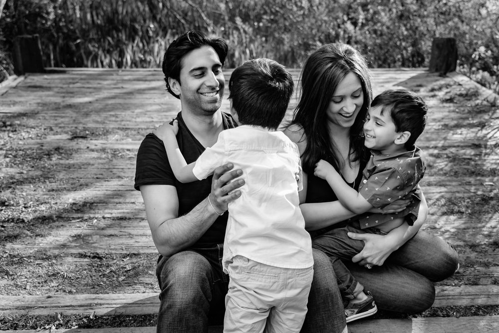 Family portrait session in Vancouver