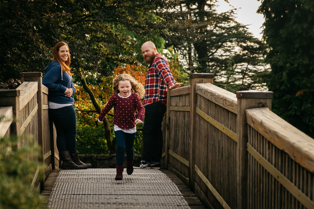 Family photography session in Vancouver