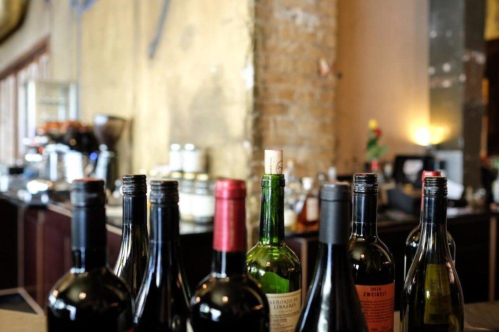 WINE & LIQUOR STORES -