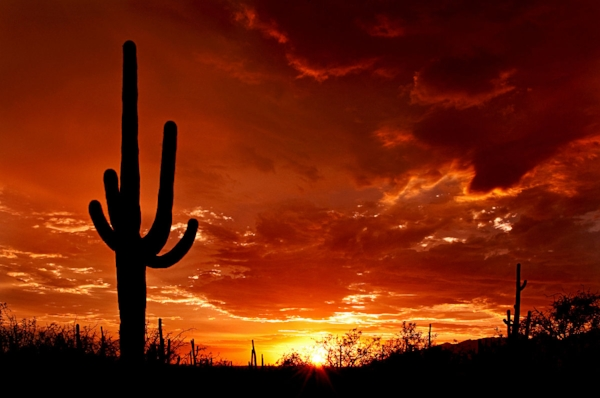 It's all about the solar here in Arizona.