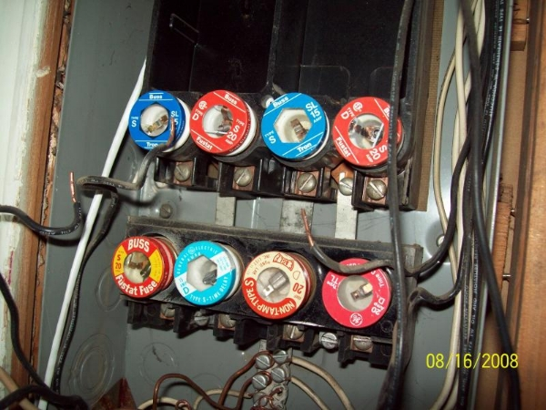 It used to be fuses were the standard. Now, circuit breakers are the norm.