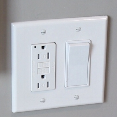 Many people now seek more ready access to electrical outlets as the result of Smart devices. A GFCI/light switch combo is the perfect solution.