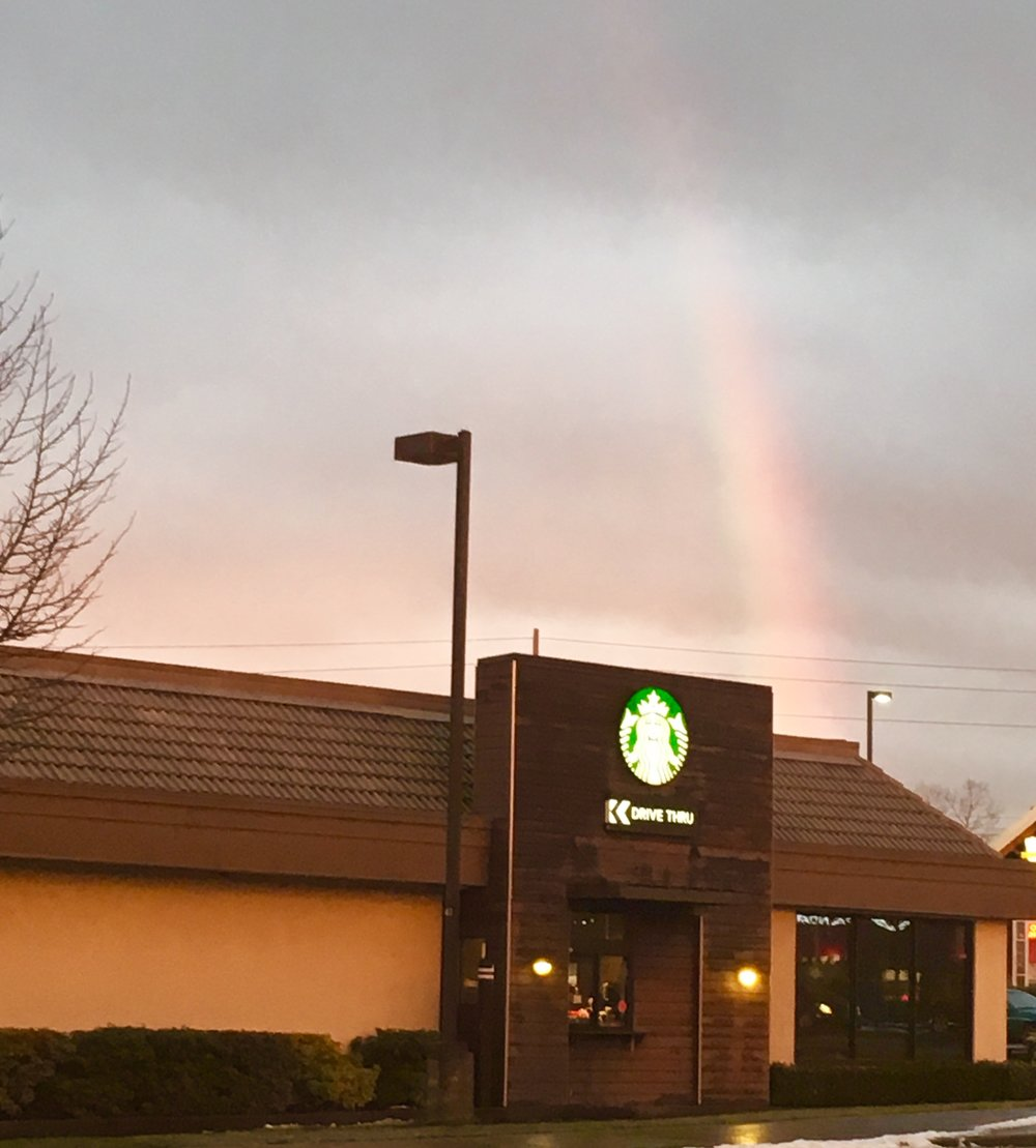 Whats At The End Of The Rainbow Starbucksmoments