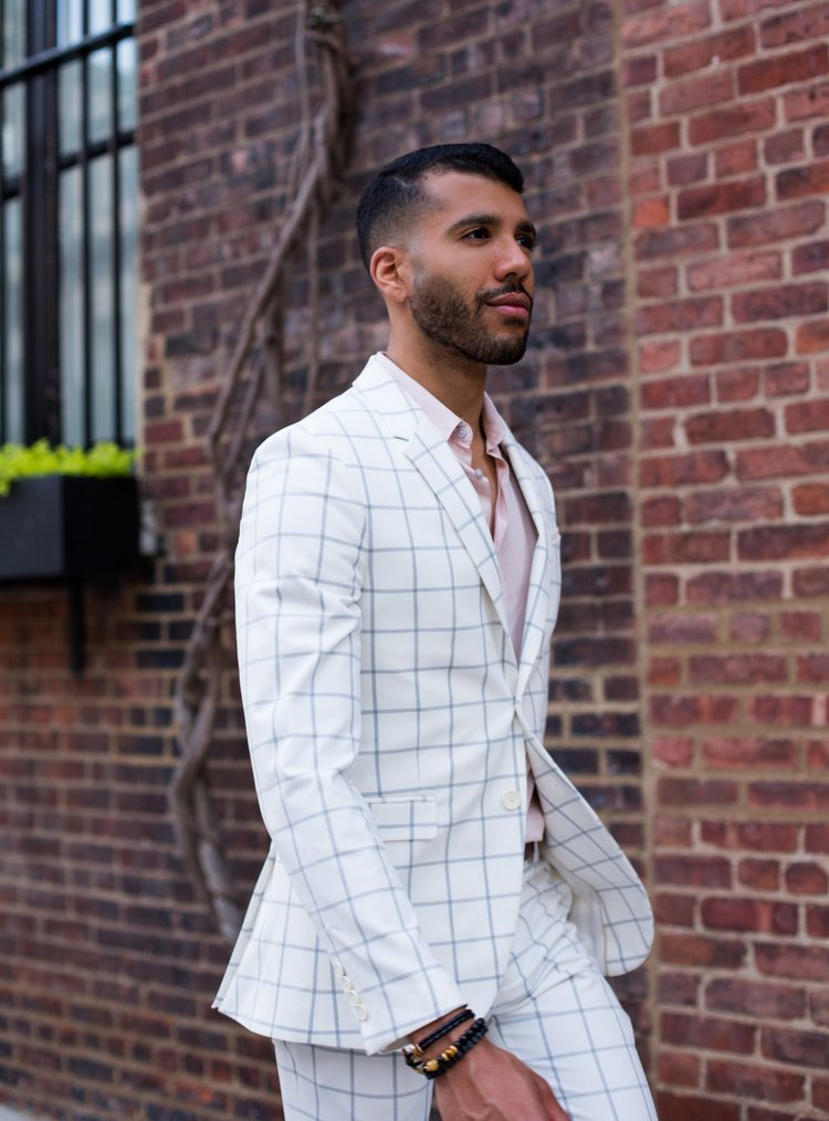 6b0e1a2a503 How To Wear A White Suit — KEVIN BENEJAM