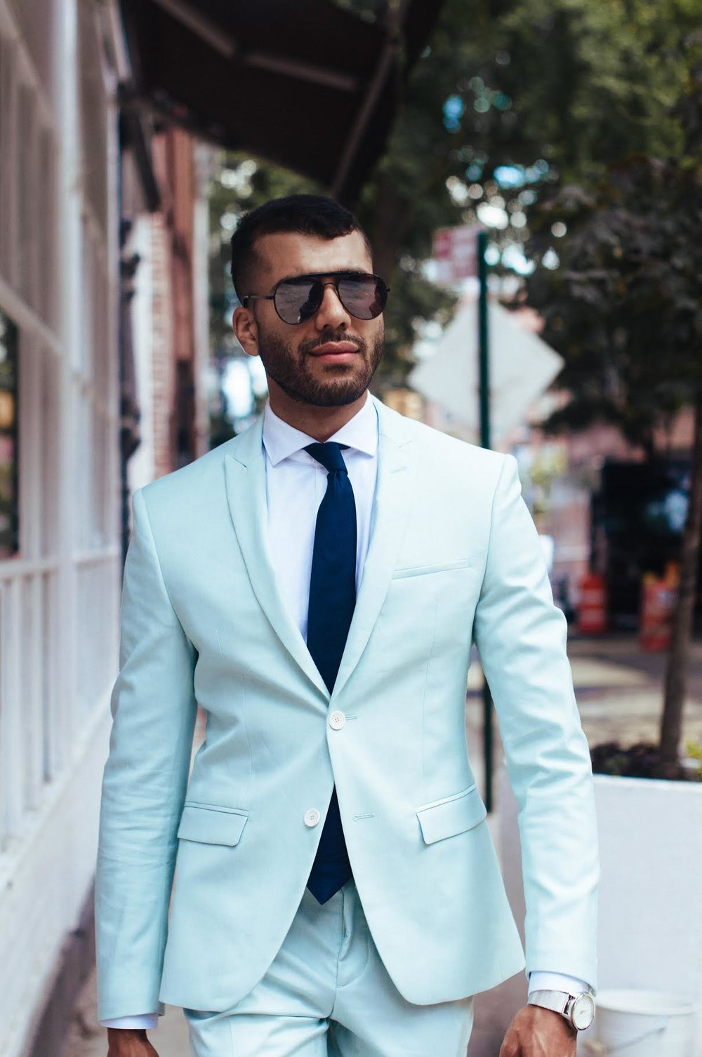 3 Ways To Wear A Mint Green Suit — KEVIN BENEJAM