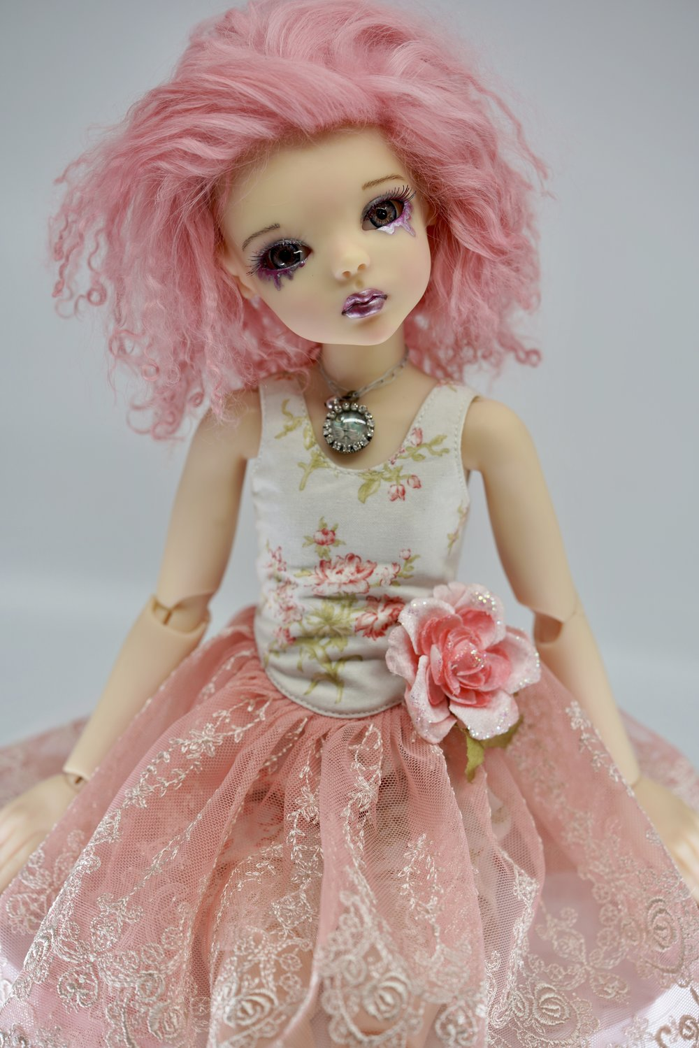 Cry Pretty OOAK Fine Art Doll by Bo Bergemann