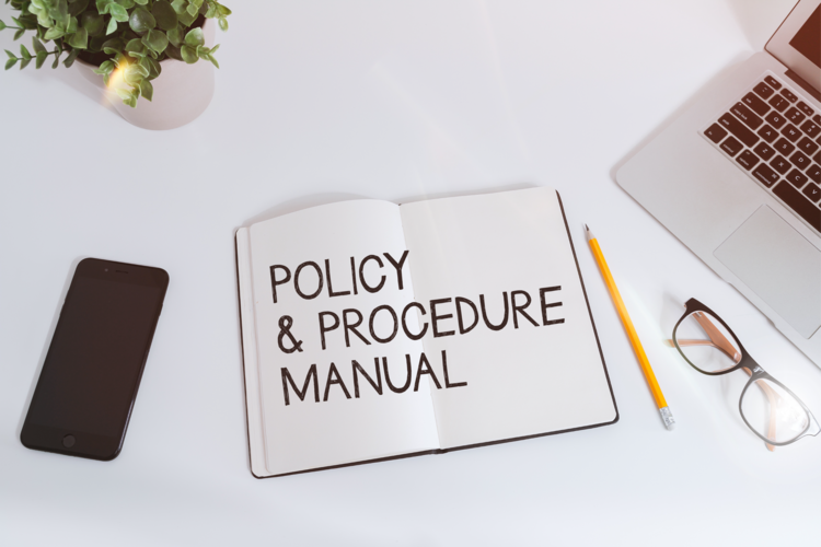 policy and procedure manual template