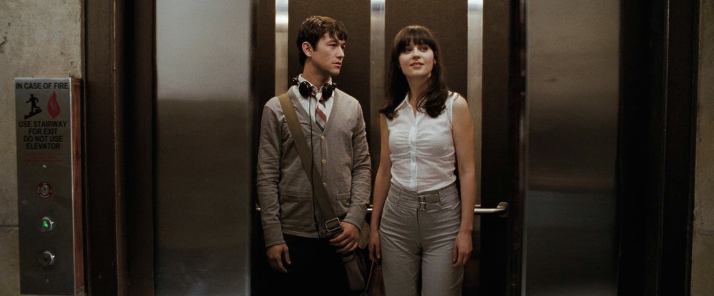 Joseph Gordon-Levitt and Zooey Deschannel in 500 Days of Summer