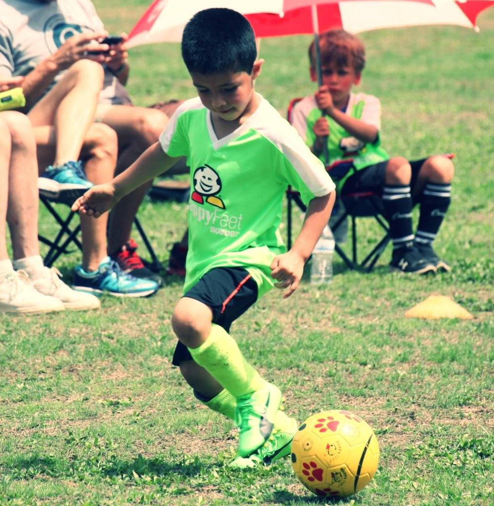 """1on1 & Small Group Skills Training - Who: Boys and Girls Ages 4-18What: Creative, active, skill building sessions and FUN games to encourage bravery, skills, goals and confidence both on and off the field! Be a Game Changer!When: Email to set up a session!Where: Your Backyard, Local Park or Neighborhood fieldCost: 1 hour 1on1 session- $35 for 1 player, $60 for 2 player group and $75 for 3 player group, Includes Professional Coaching, equipment and soccer FUN skill and confidence building!Trainer: Jackie Cooper is the Director of HappyFeet Legends Soccer in Charleston. She has her United States Soccer Federation """"C"""" Coaching License and has coached boys and girls from ages 2-20 for over 20 years. Jackie has coached academy teams at Carolina Elite Soccer Academy and Greenville F.C. and was head coach for J.L. Mann High School and Greer High School. She loves encouraging kids to have fun, stay positive, work hard and improve on the fundamentals of the most popular game in the world.Email Jackie@HappyFeetCharleston.com to schedule your session."""