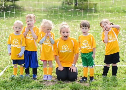 Soccer Team Kids