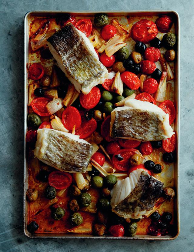 Baked Cod, Tomatoes, Lemon and Olives.jpg