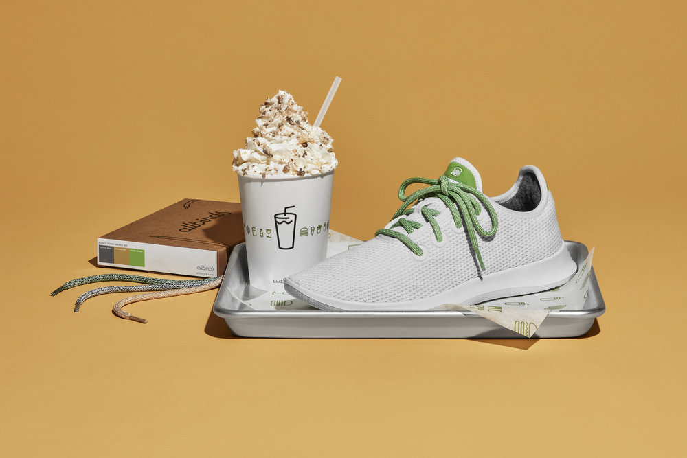 Allbirds x Shake Shack  |  Photo:  Unruh Jones