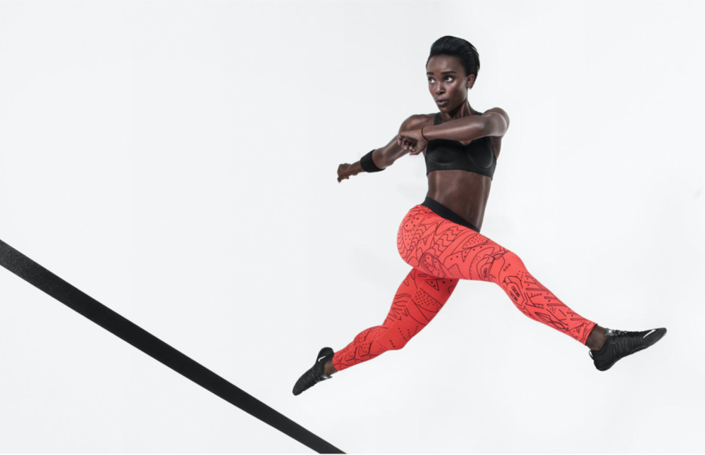 Nike Jordan Tight of the Moment  |  Art Direction:  Lisa Hopey |  Photo:  Paul Jung