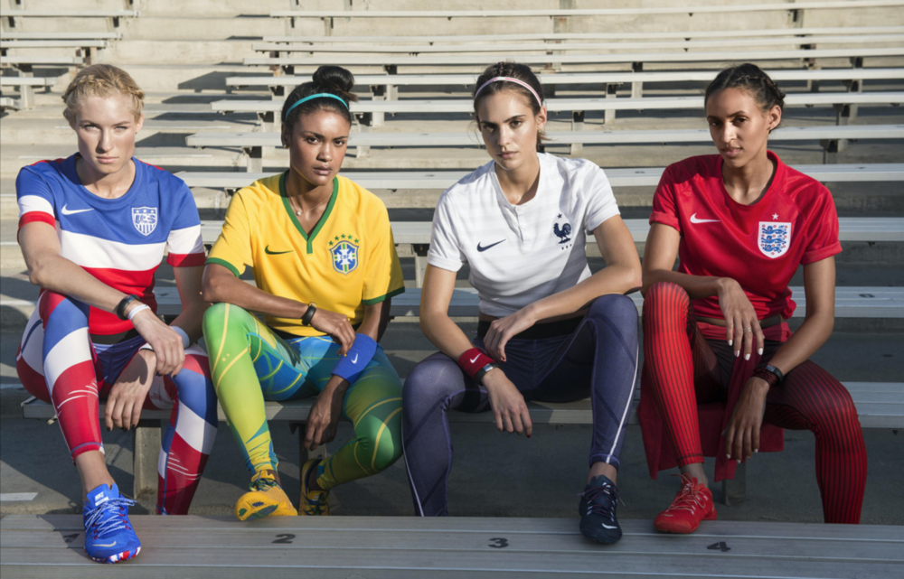 Nike Tight of the Moment - World Cup  |  Art Direction:  Lisa Hopey |  Photo : Jan Welters