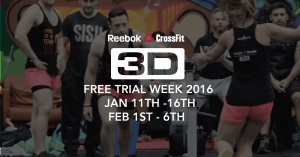 Free Trial Week 2016 jan / feb