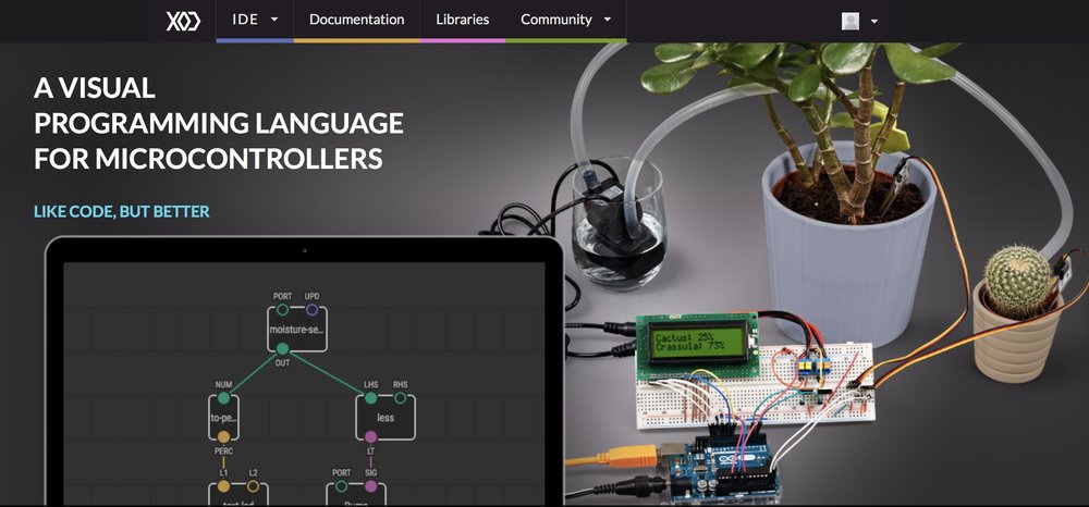 XOD provides a free graphical programming interface for shared interdisciplinary projects