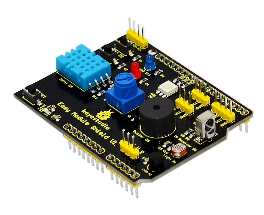 Keyestudio Multipurpose shield for Arduino