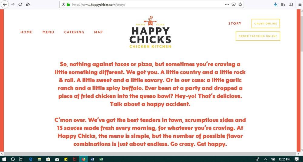 Restaurant Copywriting and Brand Story