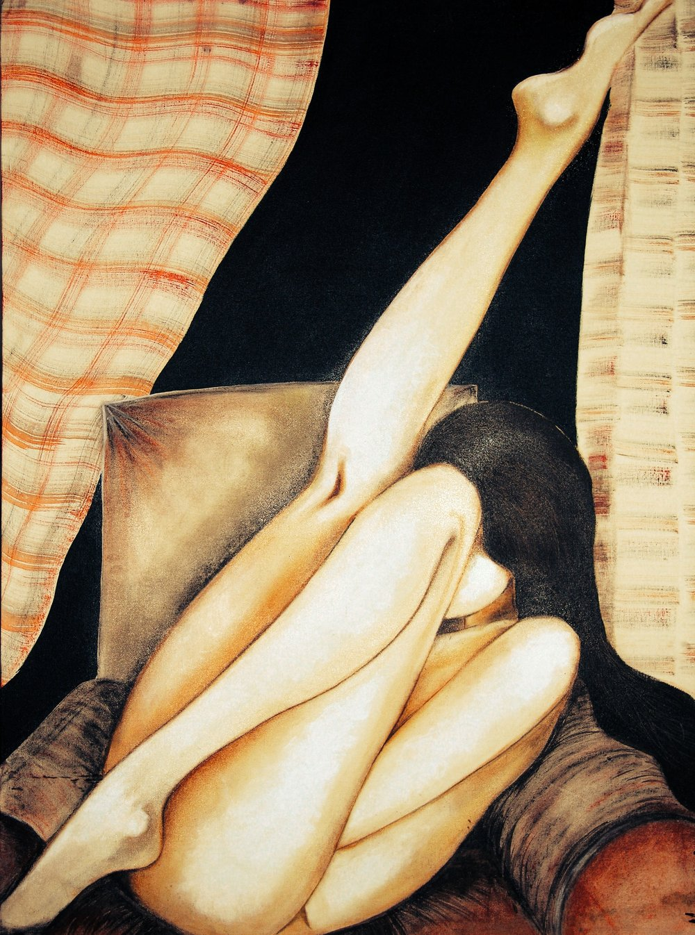 2009, dry pastels on board | 48'x 60' | AVAILABLE