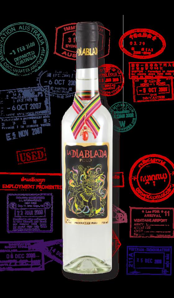 La Diablada Pisco 40 %   Klicke auf das Bild für mehr Infos!    via Cocktailian bestellen