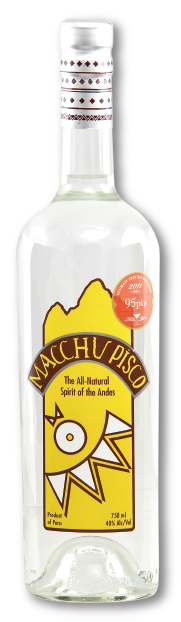 Macchu Pisco  40 %     via Cocktailian bestellen