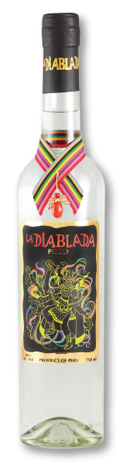 La Diablada Pisco 40 %      via Cocktailian bestellen
