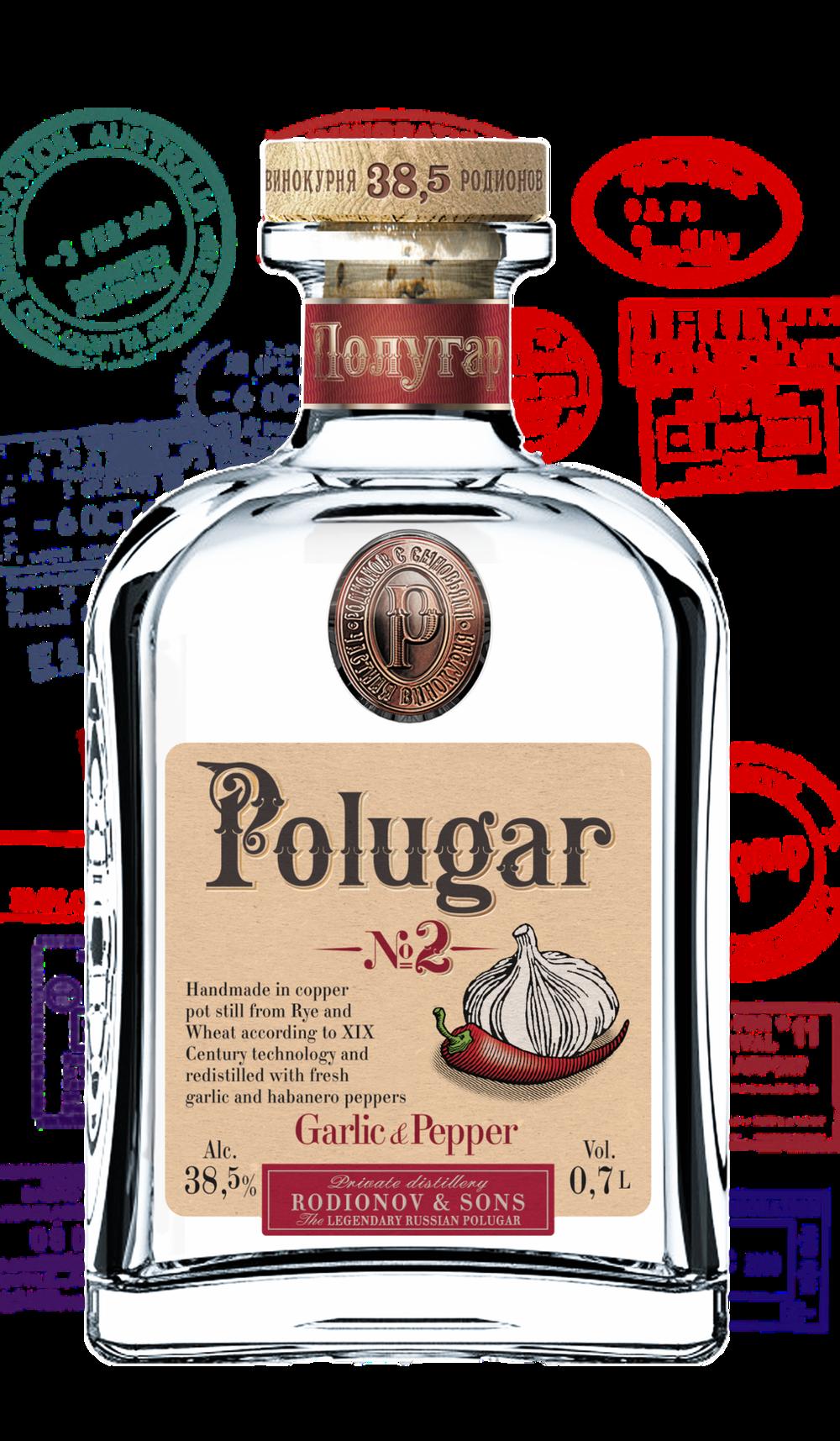 Polugar No.2 Garlic & Pepper   Klicke auf das Bild für mehr Infos