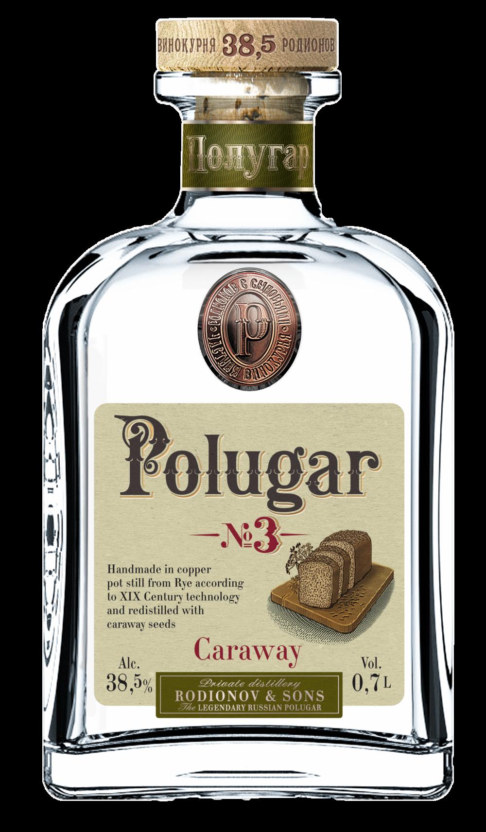 Polugar No.3 Caraway 38,5%
