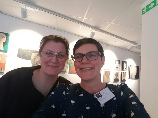 Underbara och otroligt duktiga keramikern Annika Wallström!