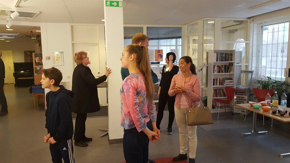 Flera gäster, bla härliga Lotta Sjöberg. Så mycket skratt och härliga diskussioner!