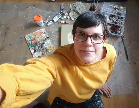 The artist herself! ;-)