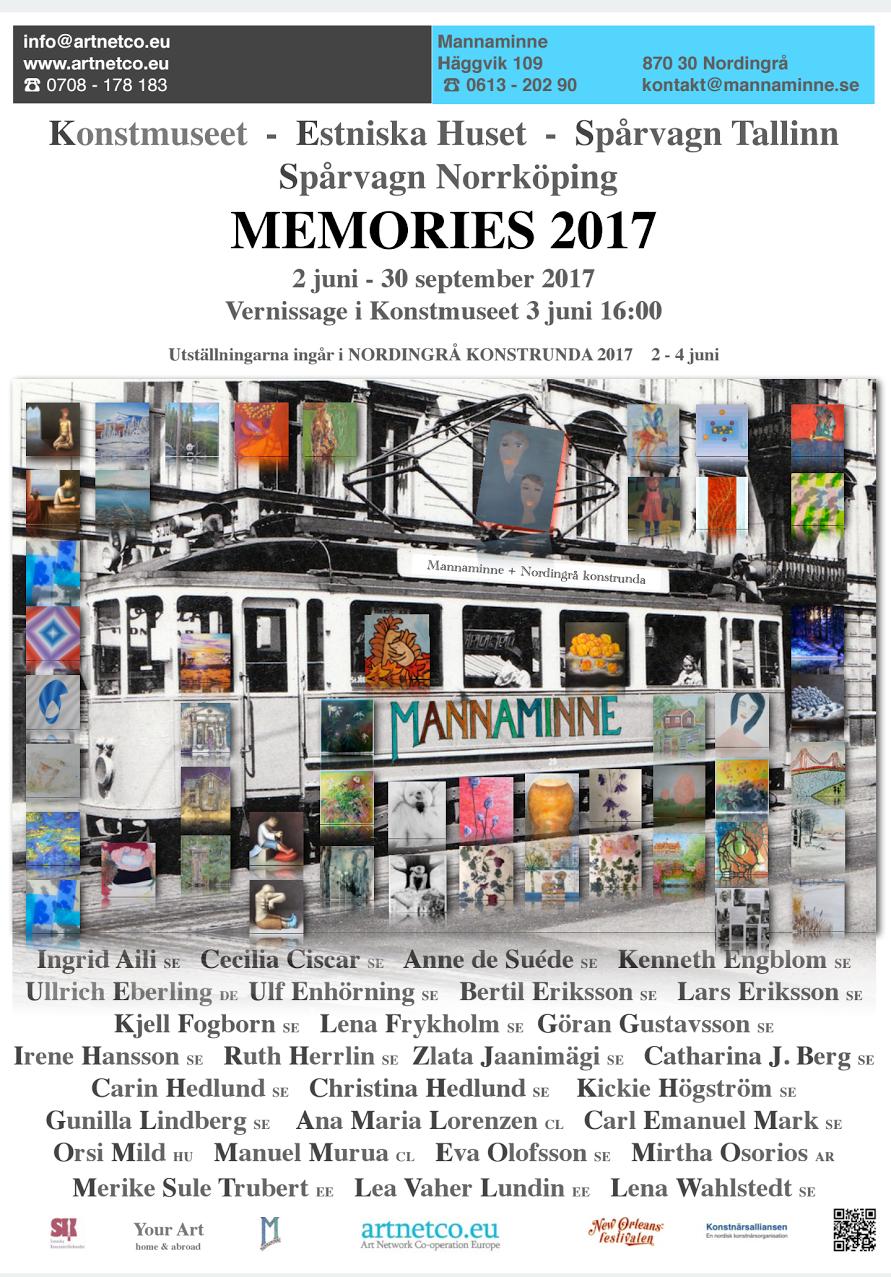 Nästa samlingsutställning på gång! 2 juni-30 september 2017 (ingår i Nordingrå konstrunda, 2-4 juni 2017)