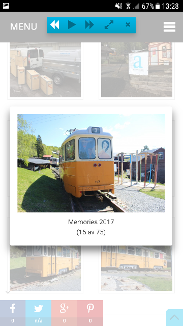 Mina tavlor i en tågvagn på utställningen Memories 2017, Mannaminne, Höga kusten. Foto: Artnetco