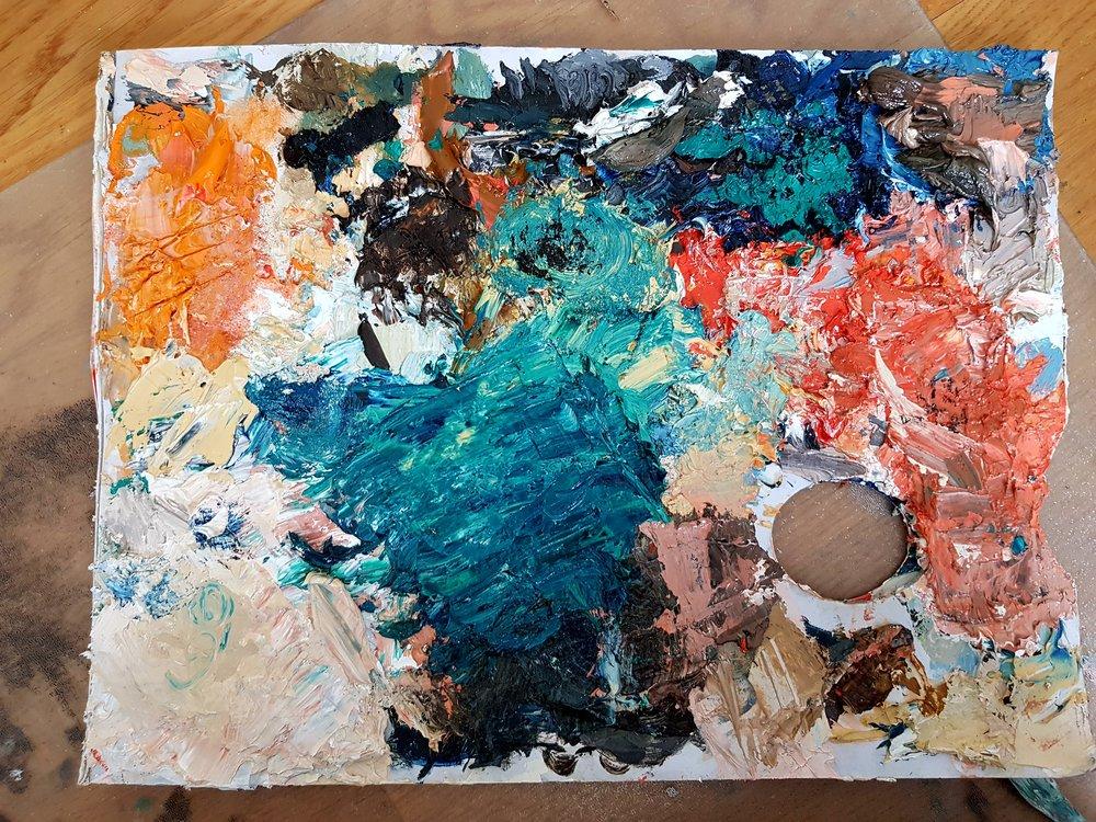 Vissa paletter är vackrare än andra eller hur?! ;-)