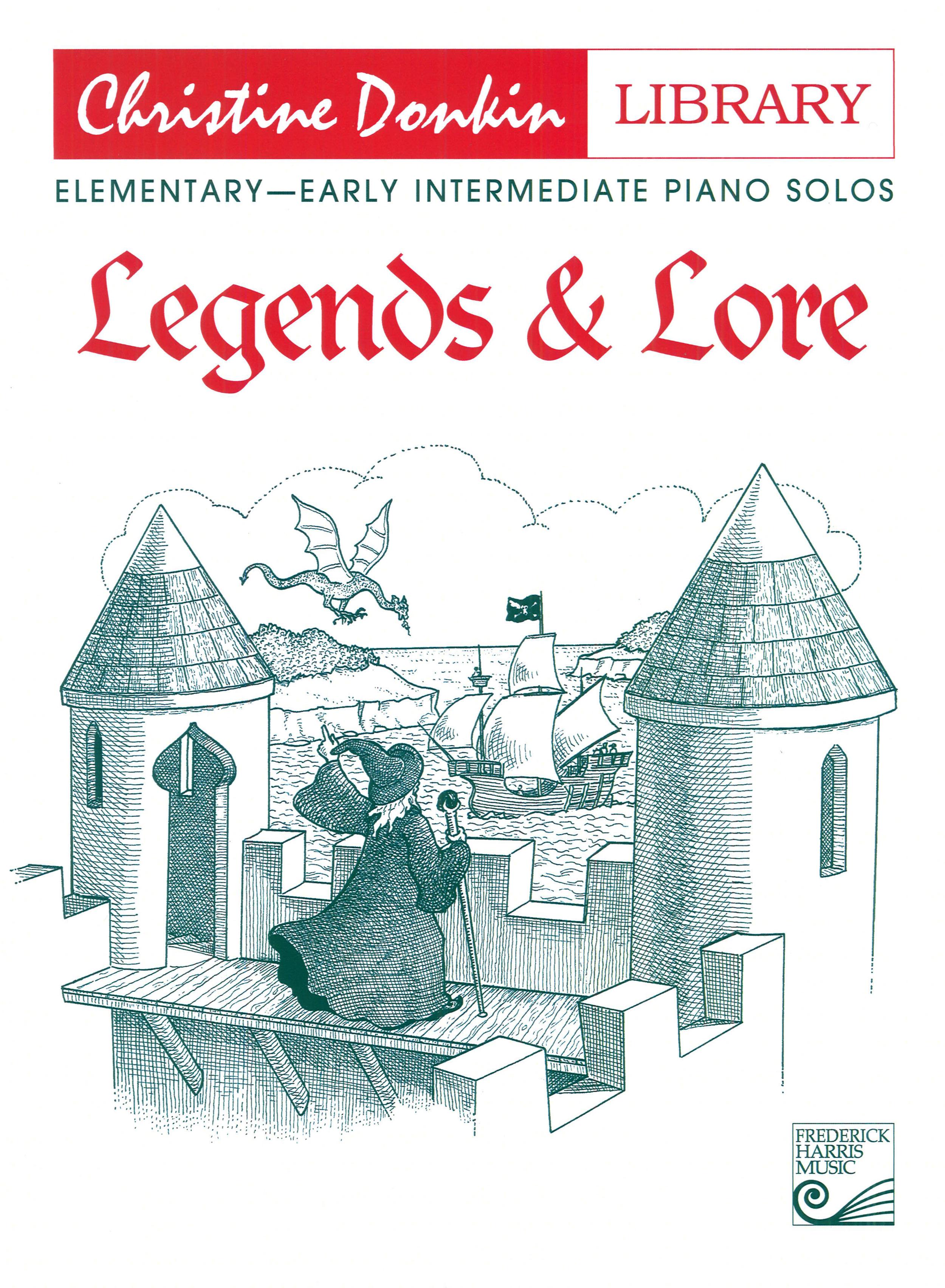 Legends & Lore (elementary piano) — Christine Donkin