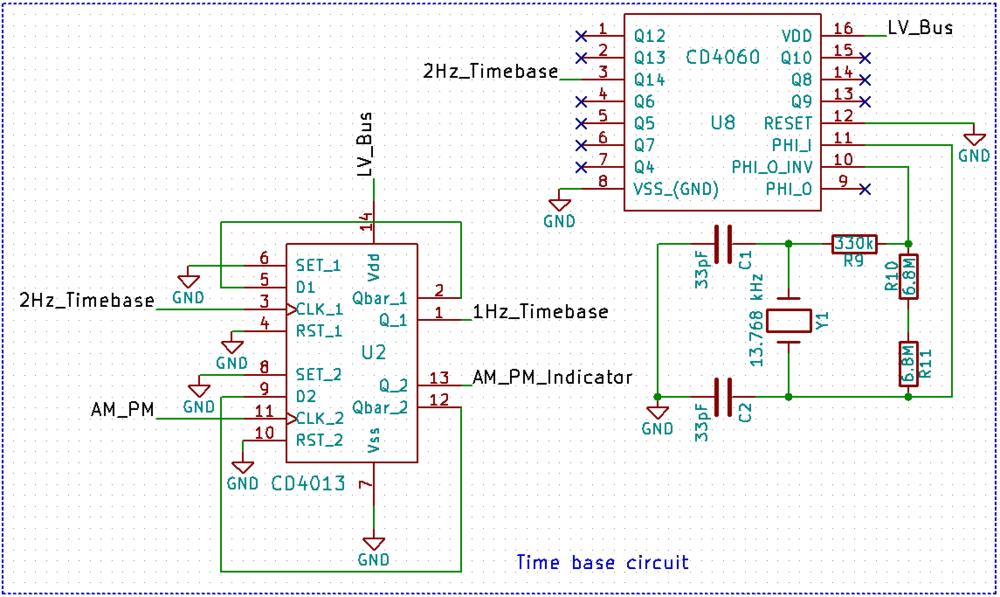 Cmos Nixie Tube Clock Project Part 2 100 Parsecs