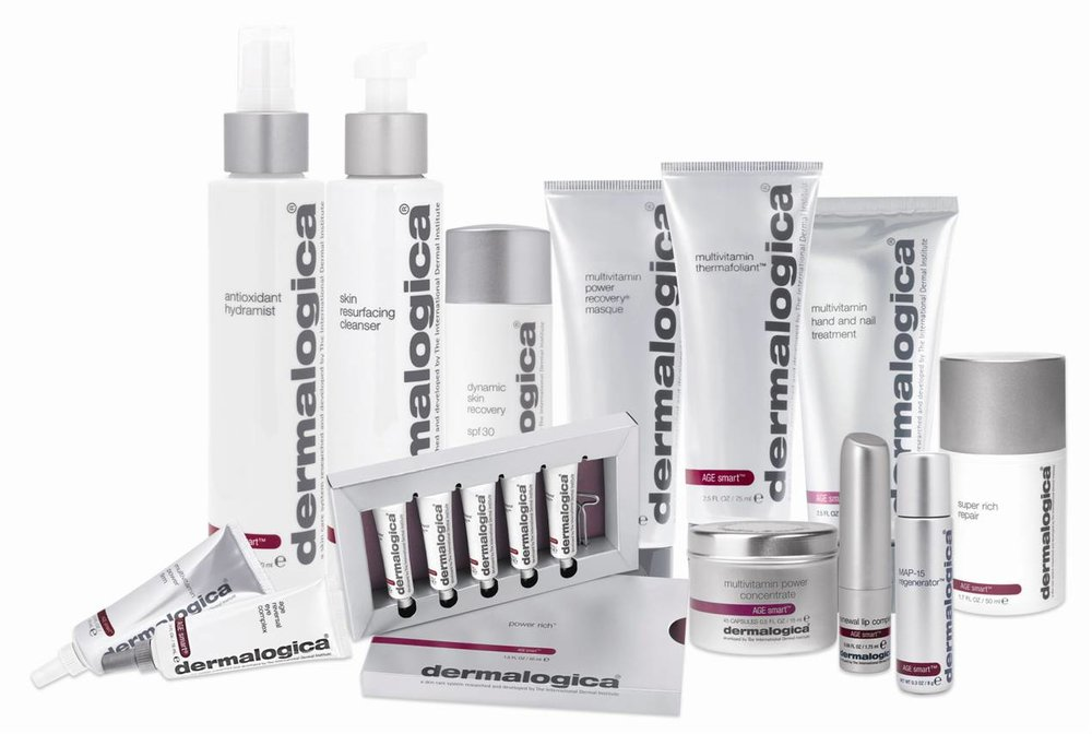 Dermalogica Skincare Products featured at Peak Performance Massage Monterey