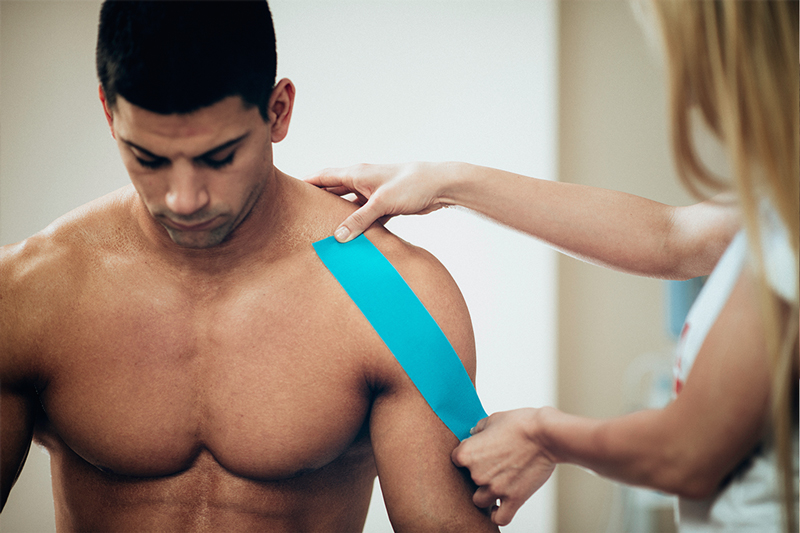 Certified Kinesio Taping Method Practitioners at Peak Performance Massage Monterey