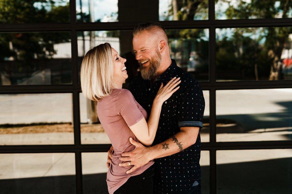 Husband and wife team Scott and Natasha Wood | pc:  The Ozark Collective