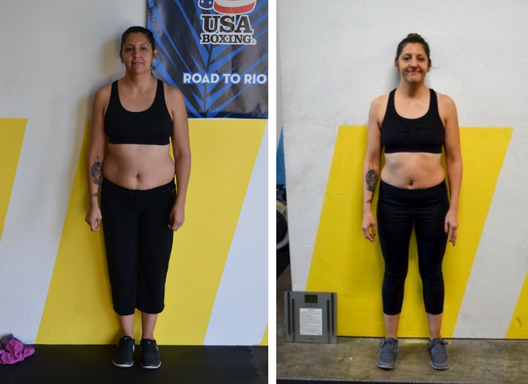 After 6 weeks Patricia was feeling stronger and more confident 💪... and doesn't she look great!?